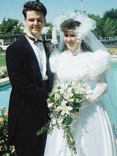 ALLXYS: WARNING....80's WEDDING PHOTOS!