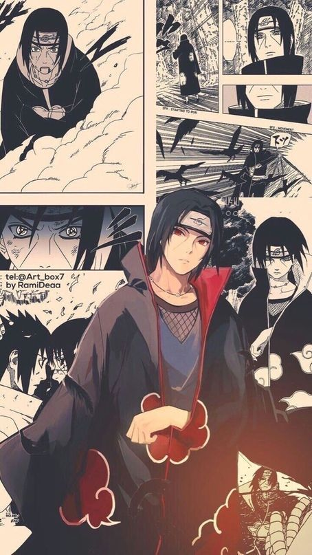 Trendy Wallpapers For Android Iphone Itachi Uchiha Anime Naruto Anime Tapete