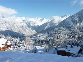 Ski-in ski-out at Hotel Les Ancolies, Courchevel, Saint-Bon-Tarentaise