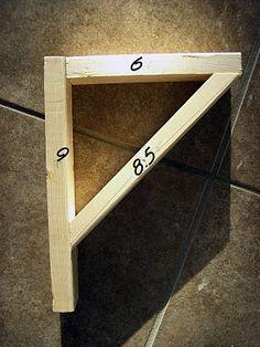 Diy Easy Shelves And Brackets Easy Shelves Wood Diy