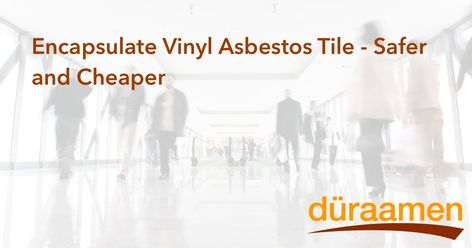 Encapsulate Vinyl Asbestos Tile Safer And Cheaper Concrete Floors Concrete Overlay Professional Decor