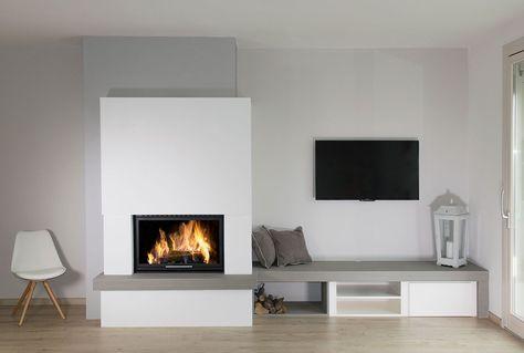 118 best Kamin images on Pinterest Fireplace heater, Fire places - möbel wohnzimmer modern