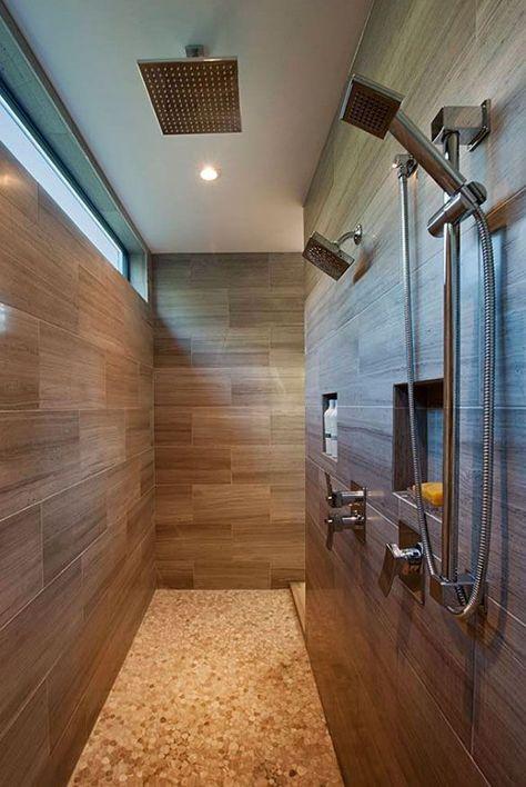 The Bradner Residence - contemporary - Bathroom - Vancouver - Rockridge Fine Homes Window in shower door - nice