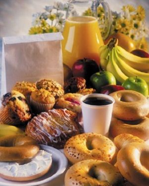 Local Fruit And Brunos Pastry Make A Great Continental Breakfast Buffet