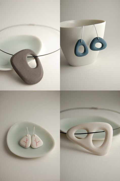 Yasha Butler - Porcelain Jewelry