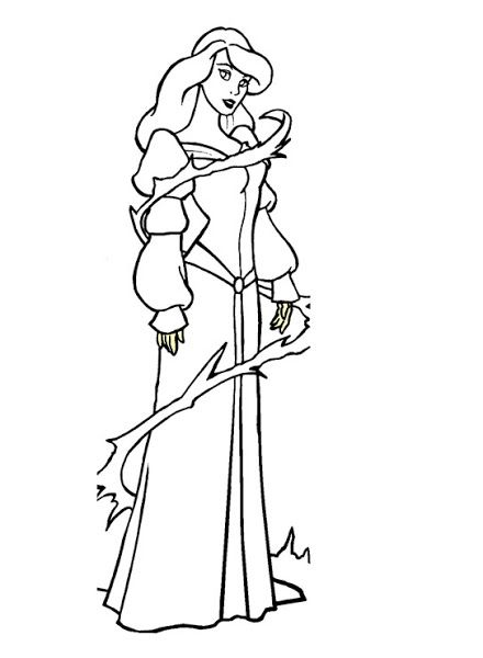 Disney Swan Princess Coloring Pages The Swan Princess Odette Coloring Page 4 Coloringpages Princess Coloring Pages Swan Princess Princess Coloring