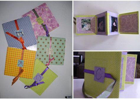 """DIY photobooks as favors!    Make a booklet for each guest; to minimize the work, create one version for all of the guests at a particular table.  So, if college friends will all sit together, find pictures of all of you and include the same 3-4 photos of the group in each guest's book.  A wedding isn't just about the bride and groom; it's a celebration of all of the wonderful people in your life.  Celebrate not only the future but also the past."""""""