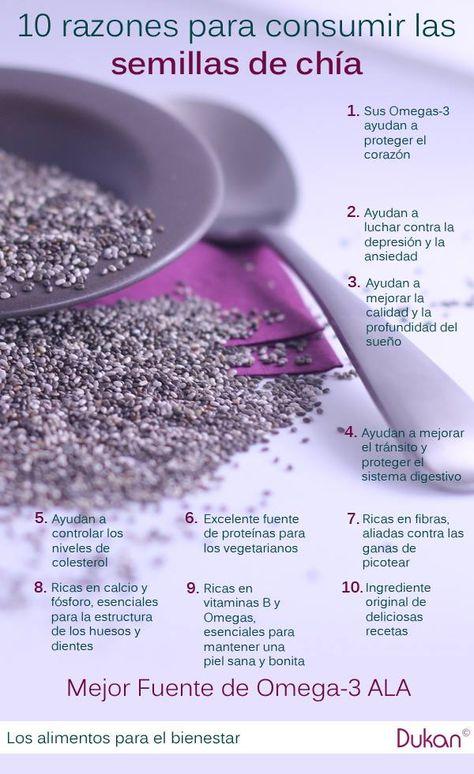 """¿Qué son las semillas de chía? ¿Por qué están denominadas como un """"superalimento""""?"""