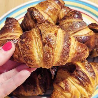 Recette De Petits Croissants Fait Maison Recette Croissant Croissants Maison Croissants