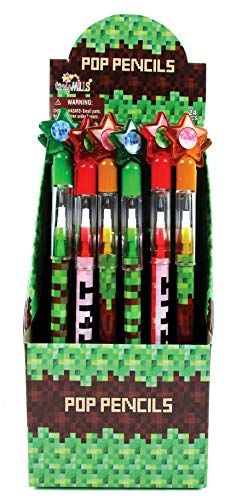 TINYMILLS 24 Pcs Unicorn Desserts Multi Point Pencils