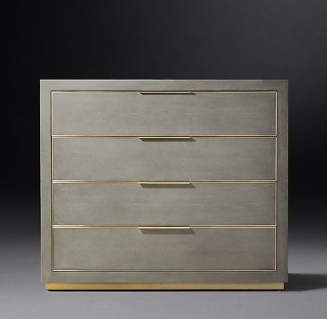 Cela Shagreen 4-drawer Dresser