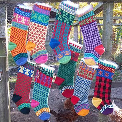 Cascade Yarns W104 Cascade Christmas Stocking (Free) in 2020