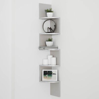 37 Amazing Corner Shelf Decorating Ideas To Beautify Your Corners In 2020 Shelves Corner Shelves White Floating Corner Shelves