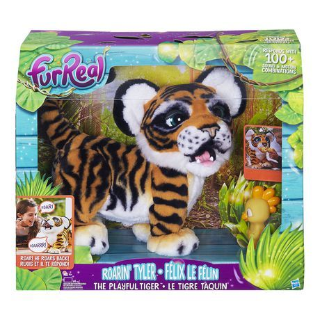 Furreal Friends Furreal Roarin Tyler The Playful Tiger Varying