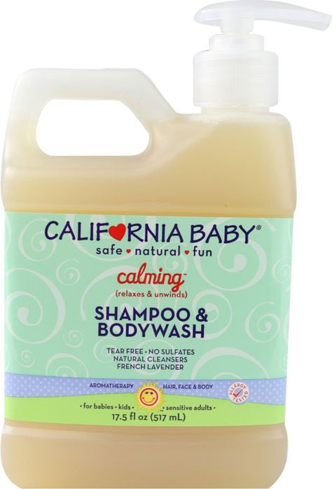 California Baby Calming Shampoo Body Wash French Lavender 17 5 Oz With Images California Baby Shampoo Body Wash California Baby Shampoo