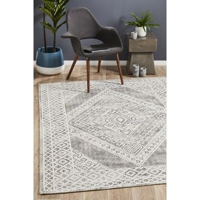 Network Charcoal White Hand Woven Vintage Style Rug Reviews Temple Webster Grey And White Rug Vintage Style Rugs Black White Rug