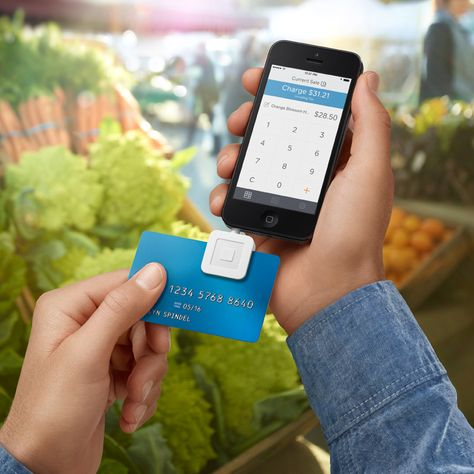 Square Launches Thinner Credit Card Payment Reader Smartphone