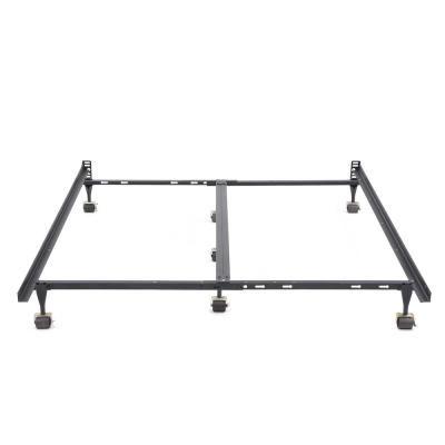 Hercules Queen Universal Heavy Duty Metal Bed Frame Black Steel Metal Beds Steel Bed Frame Bed Frame
