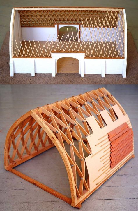 Lamella Roof Open Source Ecology Lam Beam Ribs Dome House