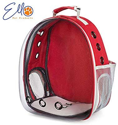 Amazon Com Cat Bubble Backpack Ello Pet Products Cat Pod Backpack Backpack For Cats Airline Approved De In 2020 Pet Backpack Cat Backpack Carrier Cat Carrier