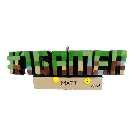 #1 Gamer Ornament