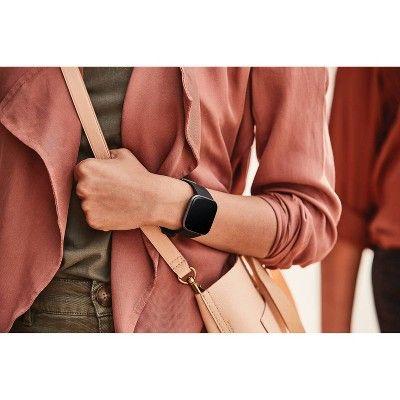 Fitbit Versa 2 Smartwatch Black Carbon In 2020 Fitbit Smart Watch Buy Fitbit