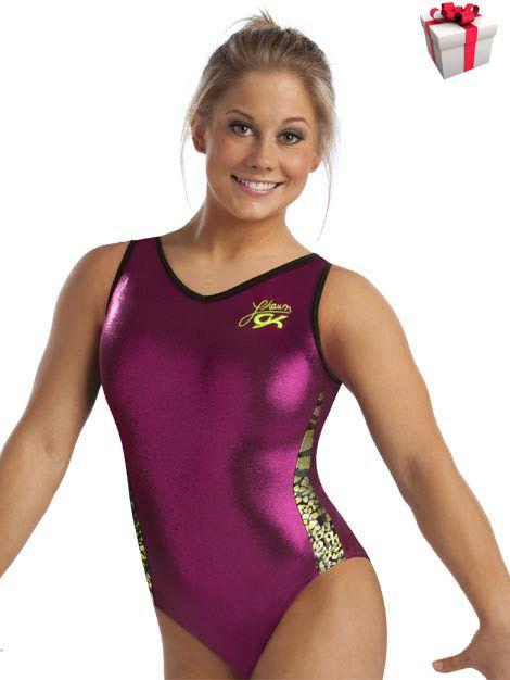 Blue Leopard   Shawn johnson, Leotards, Gymnastics outfits