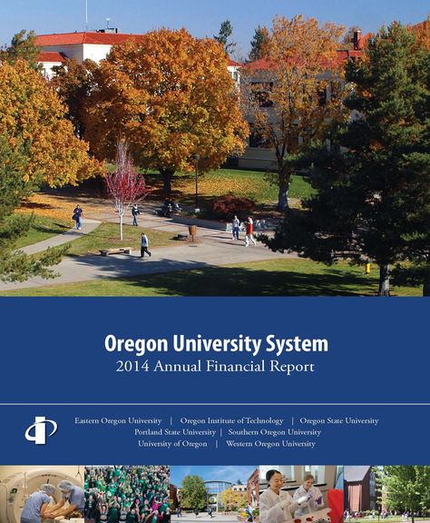 Annual financial report, by the Oregon University System