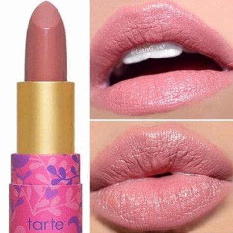 Amazonian Butter Lipstick Tarte Cosmetics Plummy Rose Makeup