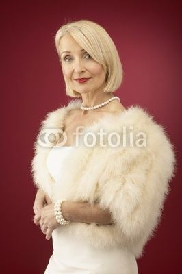 Mature rich woman