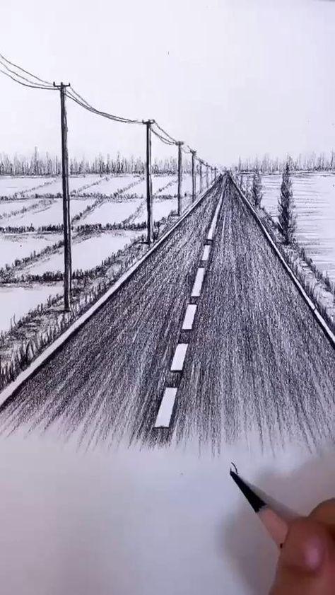 Amazing Pencil Art Drawing Talent