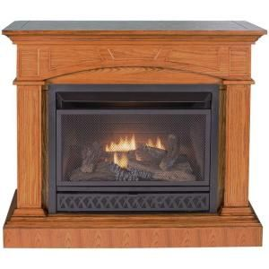 Procom 44 In Convertible Vent Free Propane Gas Fireplace In