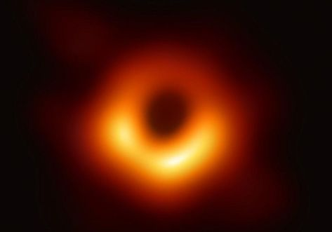This Is One Of The Images Of A Black Hole 55 Billion Light Years