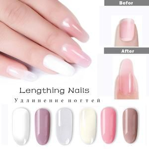 Fast Dry 6 Colors Builder Poly Gel