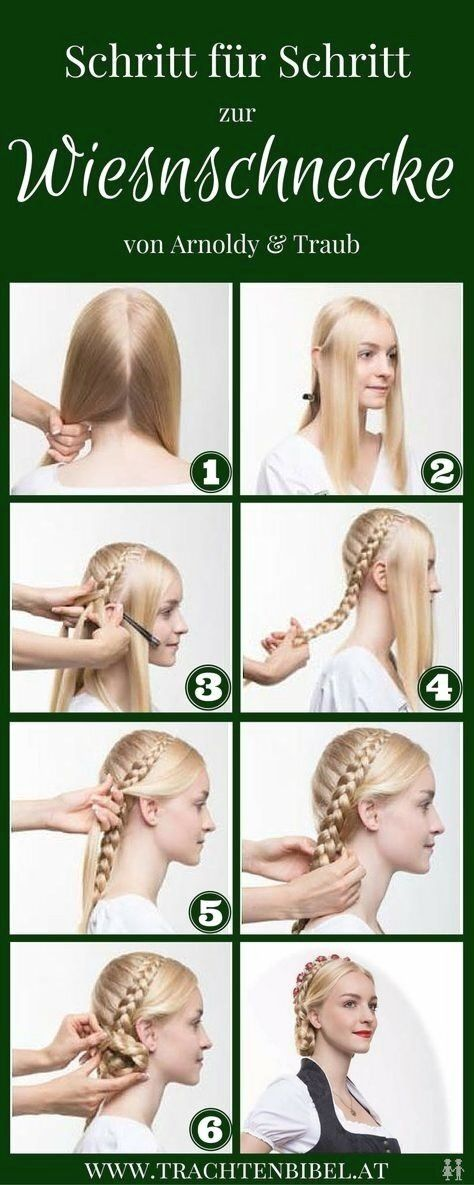 The Hair Worm Is A Classic Dirndl Hairstyle Click Here And You Will Find A Simple Step By Step Instructions In 2020 Dirndl Frisuren Dirndl Frisuren Flechten Frisuren
