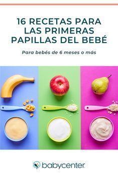 Recetas Para Las Primeras Papillas Recetas De Comida Para Bebes