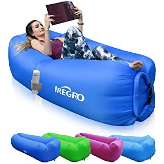 Fatboy Lamzac 2 0 Petrol Inflatable Seat Amazon Co Uk Kitchen Home In 2020 Inflatable Sofa Inflatable Lounger Bag Storage
