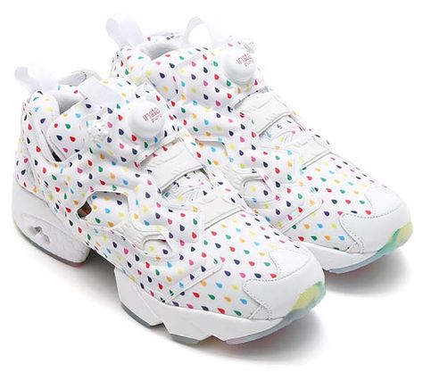 256360f8ed21e0 2019 年の「Reebok INSTA PUMP FURY OG RAIN DROP  WHITE RAINBOW ...