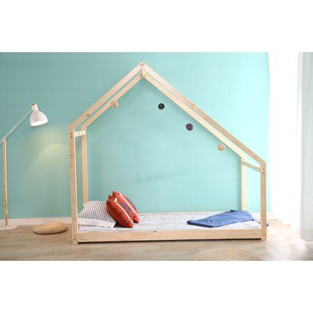 Home In 2020 House Frame Bed Toddler House Bed House Beds