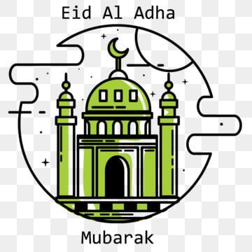 Eid Al Adha Mosque Design Illustration Eid Adha Al Png And Vector With Transparent Background For Free Download Illustration Design Eid Al Adha Graphic Design Background Templates
