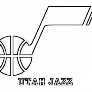 Coloring Jazz Pages Utah 2020 With Images Utah Jazz Utah