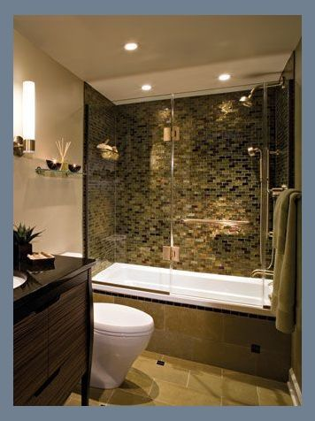 Quick And Easy Small Bathroom Decorating Tips Condo Bathroom Remodel Bathroom Remodel Des In 2020 Basement Bathroom Remodeling Bathroom Tub Remodel Bathtub Remodel