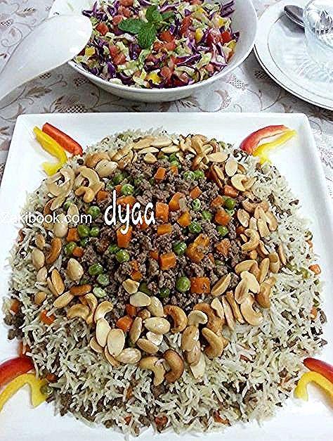 أنجح طريقة لعمل الأوزي على أصوله وبكل أسراره أطباق رئيسية أطباق لحوم Food Rice Grains