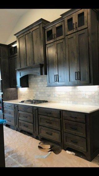 Stunning Luxury Black Kitchen Design Ideas 09 Rustic Kitchen Cabinets Stained Kitchen Cabinets Rustic Kitchen