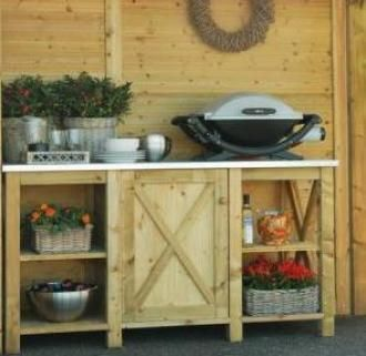 Outdoor Country Kitchen Garden | Country Style Outdoor Kitchen For The
