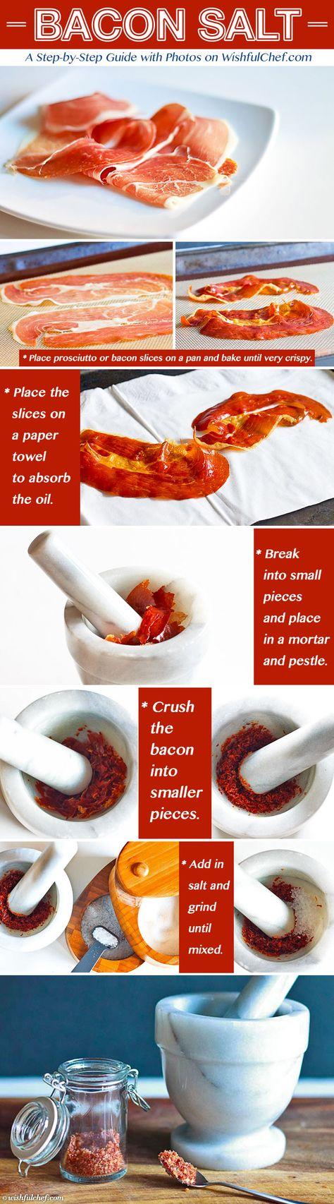 How to Make Bacon Salt // wishfulchef.com