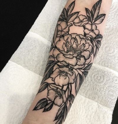 Image Result For Flower Tattoo Tumblr Punk Forearm Tattoo Girl Girl Flower Tattoos Forearm Tattoos