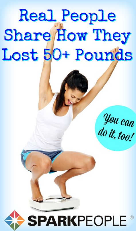10 Realistic Ways to Lose Weight for Good. Very inspirational advice from successful people! Love. | via @SparkPeople #healthyliving #motivation