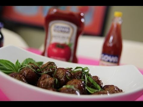 Albondigas en salsa agridulce Chef Omar Álvarez - YouTube