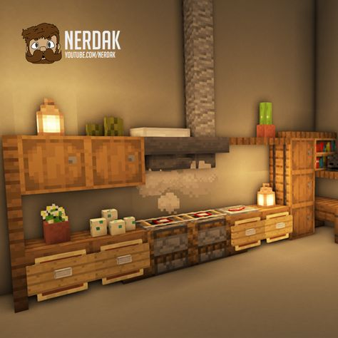 Minecraft Mods, Minecraft Villa, Minecraft Room Decor, Minecraft Kitchen Ideas, Capas Minecraft, Cute Minecraft Houses, Minecraft House Tutorials, Minecraft Plans, Amazing Minecraft
